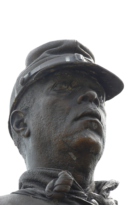 United States Colored Troops National Monument_TN_Detail of Face.JPG