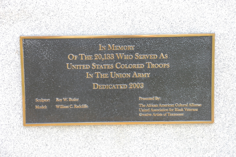 United States Colored Troops National Monument_TN_Plaque.JPG